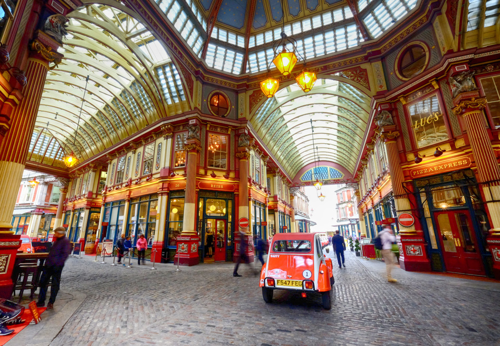 photoblog image Leadenhall Market in London, England