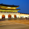 Blue Hour at the Gyeongbokgung Palace in Seoul, Korea