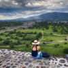Temple of the Sun in Teotihuacan, Mexico