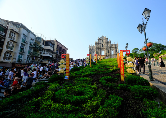 Ruins of St Paul's in Macau, China