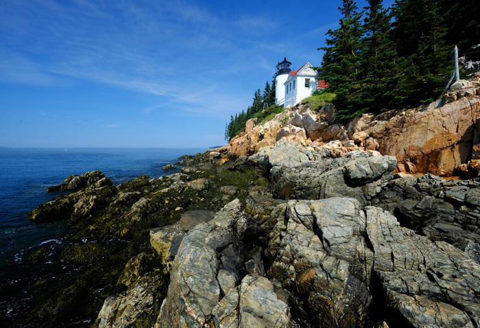 Lighthouse at Bass Harbor in Maine